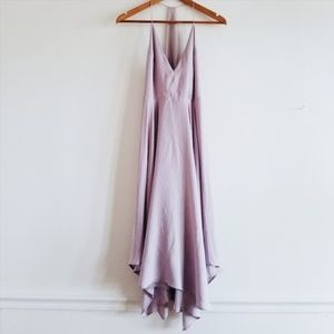 Kimchi Blue Satin Handkerchief Dress Size 0
